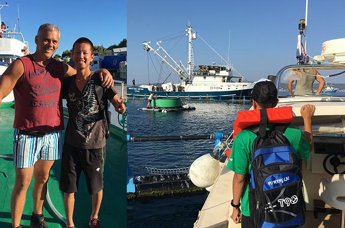 地元焼津の漁業