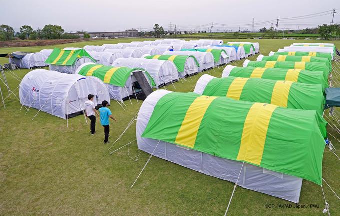 【A-PADジャパン】熊本大地震・被災者緊急支援